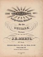 J. K. Mertz Opern-Revue, Op. 8 Nos. 9-16 Volume II